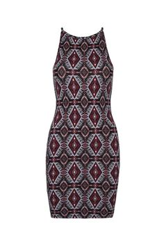#Burgundy #Aztec #Patterned #Dress #TALLYWEiJL #MustHave #Summer #BestSeller
