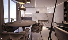 Jadalnia styl Nowojorski - zdjęcie od MOCO Architecture - Jadalnia - Styl Nowojorski - MOCO Architecture