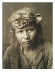 Edward S. Curtis - Jeune homme navajo