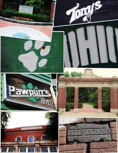 Items similar to Ohio University Collage - or special order option on Etsy Beautiful Places In The World, Wonderful Places, Great Places, Athens Ohio, Alma Mater, Girls Life, College Life, Love Photography, The Good Place