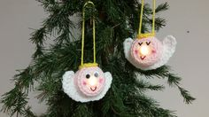 Lighted Angel Ornament – Free Pattern