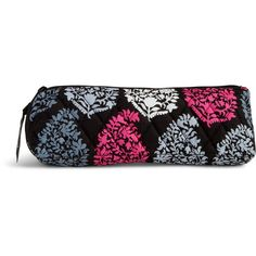 Vera Bradley Brush & Pencil Case in Northern Lights ($24) ❤ liked on Polyvore featuring home, home decor, office accessories, northern lights, vera bradley pen, vera bradley pencil case, colored pens, colored pencils and coloured pencils