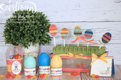 Eggstra Spectacular Easter Ensemble, Jeanna Bohanon 2013 Stampin' Up! Artisan Design Team