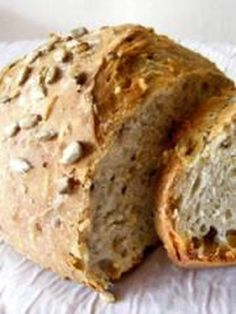 30+recettes+de+pains+maison Cooking Bread, Cooking Chef, Easy Cooking, Cooking Recipes, Croissants, Tapas, Bread And Pastries, Bread Recipes, Sourdough Recipes