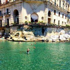 Palazzo Donn'Anna  Napoli Italy