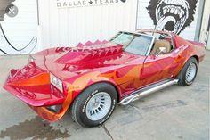 Corvette Summer, Corvette C3, Chevrolet Corvette, Chevy, Custom Hot Wheels, Custom Cars, Little Red Corvette, Barrett Jackson Auction, Pinewood Derby