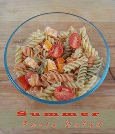 Summer Pasta Salad Recipe on Yummly