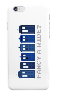 'Fancy a ride?' Case/Skin for Samsung Galaxy by nath-gary Samsung Galaxy Cases, Iphone Cases, Tardis, Doctor Who, V Neck T Shirt, Chiffon Tops, Classic T Shirts, Nerd, Geek Stuff