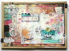 Art Journaling with Mumkaa Scrapbook Journal, Scrapbook Paper, Scrapbooking, Altered Books, Altered Art, Art Journal Pages, Art Journaling, Art Journal Inspiration, Journal Ideas