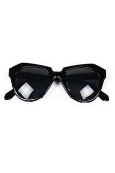 Angled sunglasses