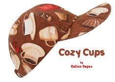 Cozy Cups Coffee Theme Allover Print Baseball Ball Cap | Etsy Spotted Animals, Coffee Theme, Apple Prints, Hook And Loop Tape, Florida Usa, Panama City Panama, Custom Cards, Floral Prints, Gift Wrapping