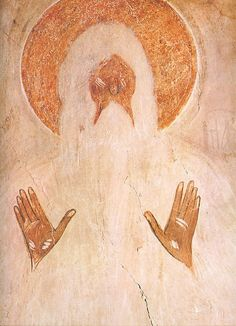 St. Macarius of Egypt, Fresco by Theophanes the Greek