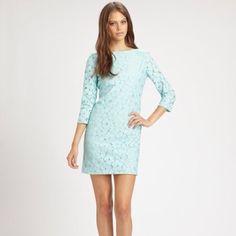 "Spotted while shopping on Poshmark: ""SALE!!HP x20 DVF Blue Sarita Lace Flower Dress""! #poshmark #fashion #shopping #style #Diane von Furstenburg #Dresses & Skirts"