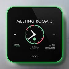 The Evoko Liso allows you to book, manage and analyse meeting room usage to create a more effective meeting culture in your business. Book meeting spaces via its intuitive, touchscreen interface or through your existing email system. See whether a room is free via the red or green LED illumination and access information about the booking through the clear information displays. A check-in function releases booked meeting rooms if no-one turns up.