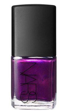 Pin for Later: 14 Moody New Nail Polish Shades You'll Wear All Autumn Fuchsia NARS Purple Rain (£12)