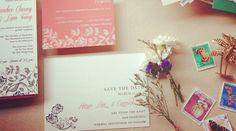 Printable Wedding Invitation & RSVP Card - digital template DIY - Allure. $38.00, via Etsy.