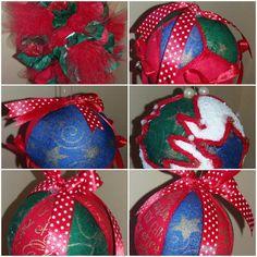 Palline polistirolo natalizie , by francycreations non solo idee regalo, 4,00 € su misshobby.com