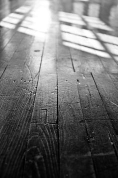 Wood floors. Love the color of these floors.