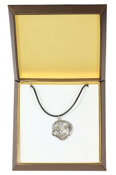 NEW Pug dog necklace in casket limited edition by ArtDogshopcenter