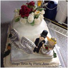 Die 13 Besten Bilder Von Torten Zur Hochzeit Silber Gold Und