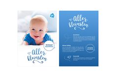 Baby flyer - Albert Heijn on Behance