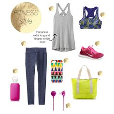 INSPIRED STYLE | Odyssey Chat Tight, Criss Cross Tunic and the Double Dare Radical Bra: Three Athleta pieces that look effortlessly chic in the gym and on the street via @jen Pinkston
