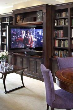 TV rotativ - Amenajari interioare: 4 moduri elegante de a ascunde televizorul
