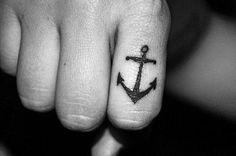 The anchor tattoo symbols hope,safety,fidelity,stability,security,salvation,good luck,steadfastness,ocean and sea.