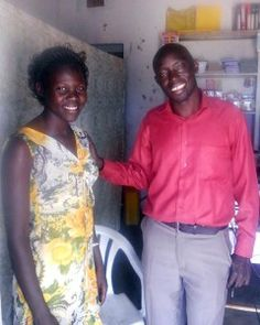 After completing the 12 week U-TOUCH ICT training Gracious, seen here with Denis, the ICT Trainer in Pader, was able to open a small stationary store offering goods and computer services.  Her store, appropriately called Good Hope Stationary, is thriving and benefitting individuals, businesses and NGOs in the town of Patongo. More: http://www.u-touch.org/blog/good-hope/