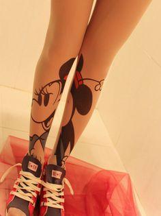Mickey Tattoo Stockings