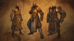 Monk In Diablo 3 : Lore, Names And Gameplay