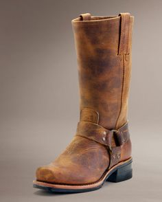 Men s Harness 12R Boot - Dark Brown Western Boots For Men, The Frye Company, 1cb59bccb4a6