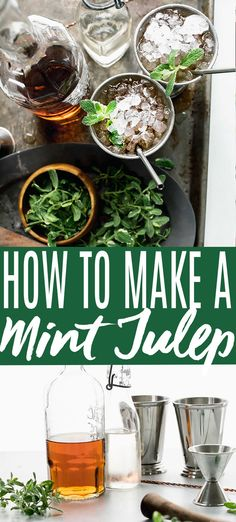 This classic Mint Julep recipe is the perfect Kentucky Derby Cocktail. Learn about the best bourbon to use, its ingredients and history.// recipe kentucky derby // cups // how to make a