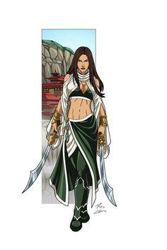 Talia commission by phil-cho on DeviantArt Talia Al Ghul, Dc Comics Characters, Fictional Characters, Fantasy Characters, Dc Comics Women, Female Villains, Deadshot, Superhero Design, Marvel Heroes