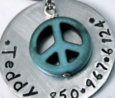 Custom Pet id tag / Super Sturdy with a PERFECT by PoochyCouture, $12.00