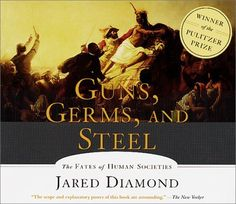 Guns, Germs and Steel by Jared Diamond, http://www.amazon.com/dp/1565115147/ref=cm_sw_r_pi_dp_oYS8qb05ZAH5B