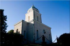The Suomenlinna Churc , Suomenlinnan kirkko,               Sveaborgs kyrka.  1854 In Suomenlinna,  Helsinki Finland by Aili Alaiso