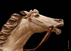 Wooden hand carved Carousel   Horse