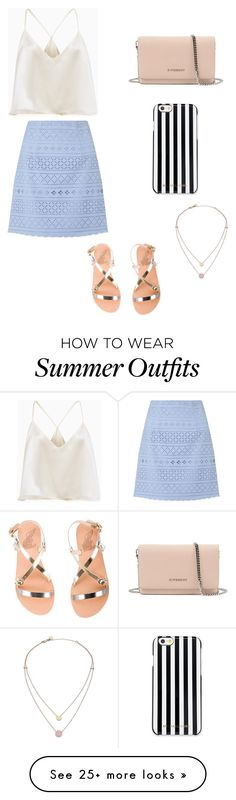 """Cute Summer Outfit"" by lsantana13 on Polyvore featuring Lipsy, Givenchy, MICHAEL Michael Kors, Michael Kors and Ancient Greek Sandals"