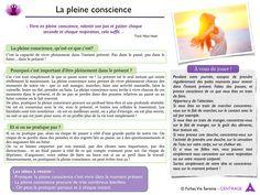 Deuxième fiche offerte : la pleine conscience ! - Instant Serenite
