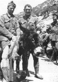 The epitome of sacrifice and courage in the Anzac spirit. Duffy the Donkey transported injured soldiers to safety at Gallipoli, with his owner John Simpson. World War One, First World, Gallipoli Campaign, Anzac Cove, Anzac Day, The Donkey, Remembrance Day, Lest We Forget, Donkeys