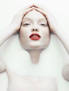 Naty Chabanenko by Bjorn Looss for Virgine Magazine #1