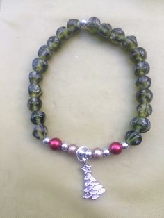 A personal favorite from my Etsy shop https://www.etsy.com/listing/250034628/handmade-bracelet-for-a-cure-limited
