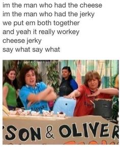 I always wanted to try cheese jerky!!>>> My childhood was based on Hannah Montana, High School Musical & every Disney movie ever