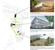 site plan w/ keyed images