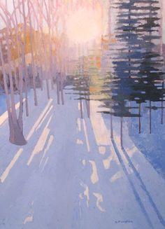 henry issacs / maine artist | Gallery Artist - Madelaine Hopkins | islesforddockgallery.com