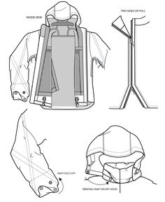 Flat / Cad Sketches & Line Sheets by Kim Honeycutt at Coroflot.com