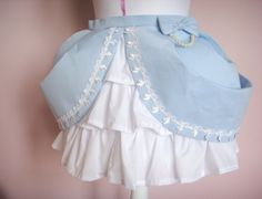 Cupcake Skirt in Sky Blue fairy kei lolita style by Sugarluff
