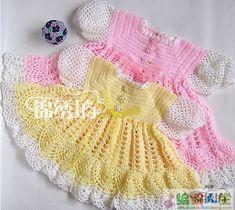princess crochet dresses - phototutorial and charts!
