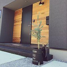 Entrance/カフェ風/ビンテージ/シンプル/ユーカリ/ブリキ缶...などのインテリア実例 - 2017-09-01 05:28:14